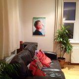 Chris's painting in situ!