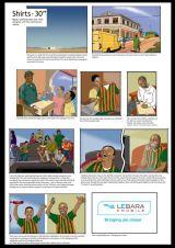 Lebara storyboard (see link for final TV ad)