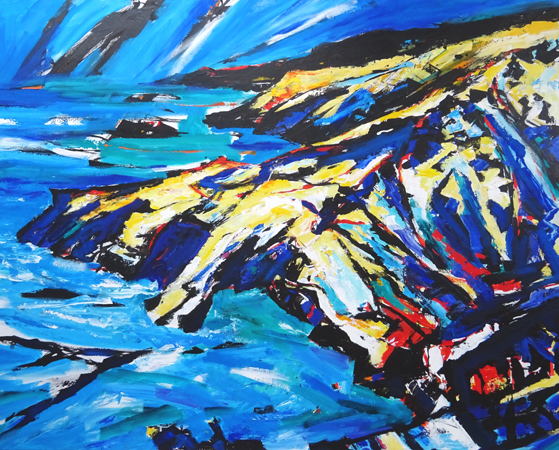'Barras Head from Tintagel'