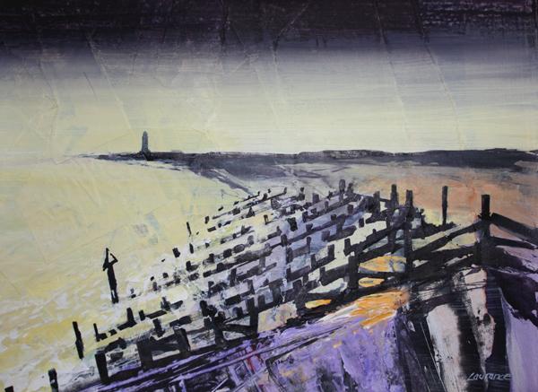 'Evening Light, Slaughden'