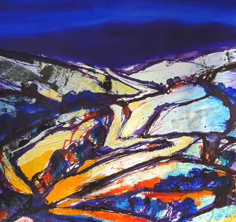 'Landscape, Upper Wharfedale'