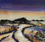 'Last of the Snow, Orford Ness'