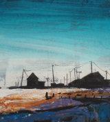'Orford Ness, Blue Sky'