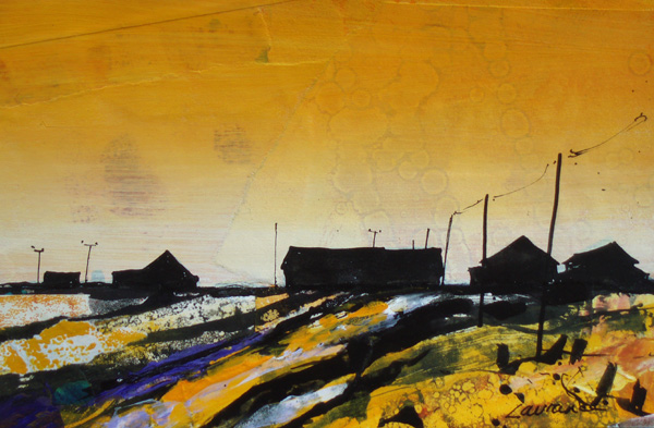 'Orford Ness, Still Evening'