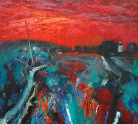 'Red Sky at Treven'