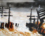 'Rough Sea, Happisburgh'