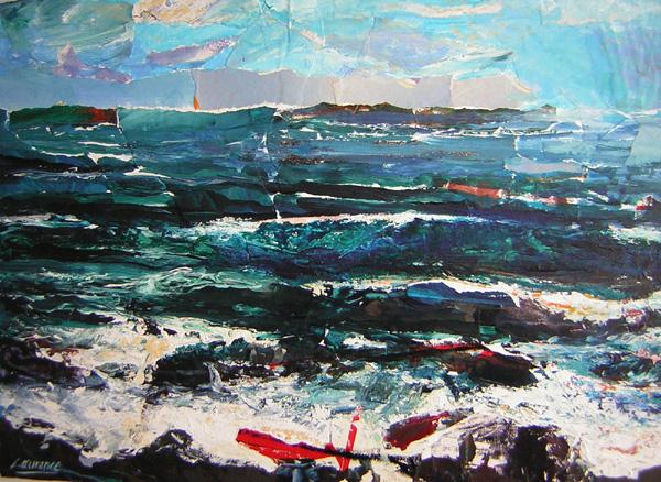 'The Sea at Pennan'
