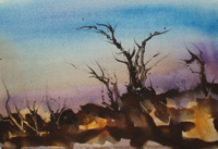 Diss, watercolour image 2