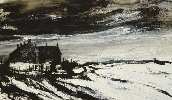 'Winter Shoreline, Musselburgh'