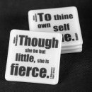 William Shakespeare coaster