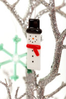 Snowman (red scarf) Christmas decoration