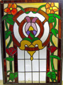 Stained glass window by Harriet Gray