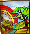 Stained glass window by Kearn Nicklin