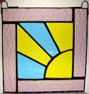 Sunset Window Hanging.