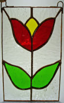 Tulip Window Hanging.