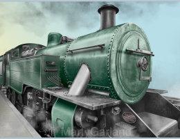 1940s Steam Train