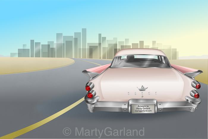 50s Tail Fin Dodge