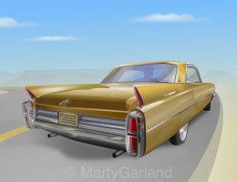 1963 Cadillac De Ville-2