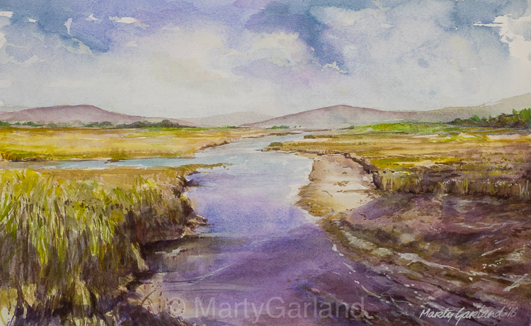 Donegal Landscape, Ireland - SOLD