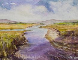 Donegal Landscape, Ireland - SOLD