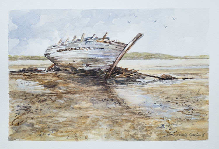 Donegal Wreck - SOLD