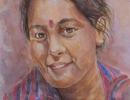 Nepal Girl 6 - Kathmandu, Nepal
