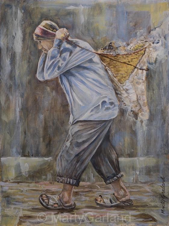 Nepalese Labourer - Kathmandu, Nepal
