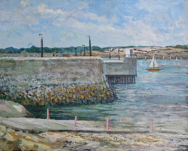 Skerries Harbour view