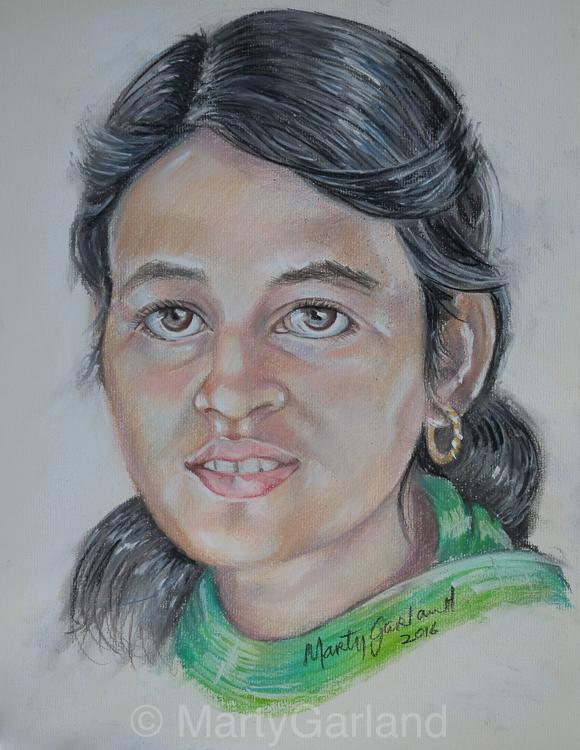 Nepal Girl 2 - Kathmandu, Nepal