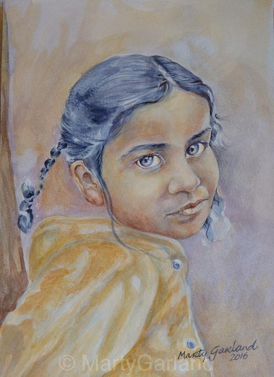 Nepal Girl 3 - Kathmandu, Nepal