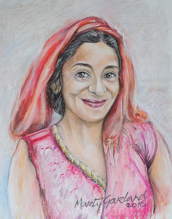 Nepal Woman 1 - Kathmandu, Nepal