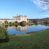 Leeds castle reflection 1
