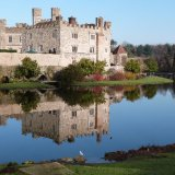 Leeds castle reflection 2