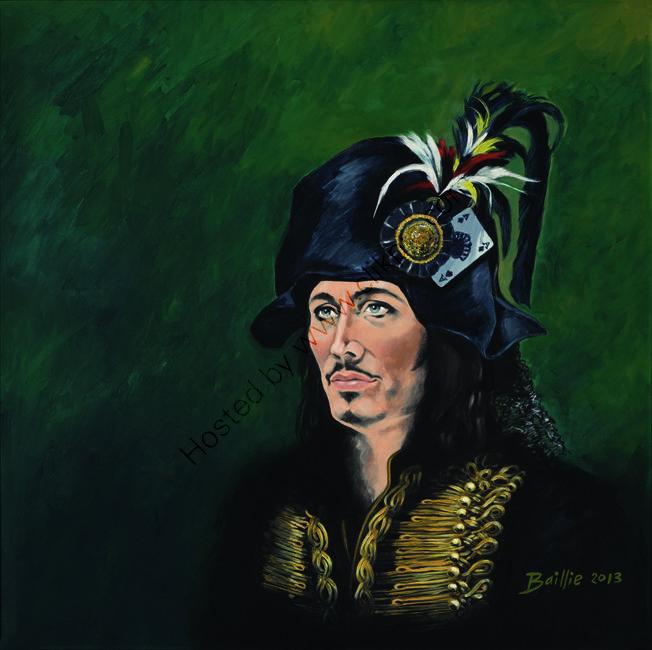 Return of the Blueblack Hussar, Adam Ant
