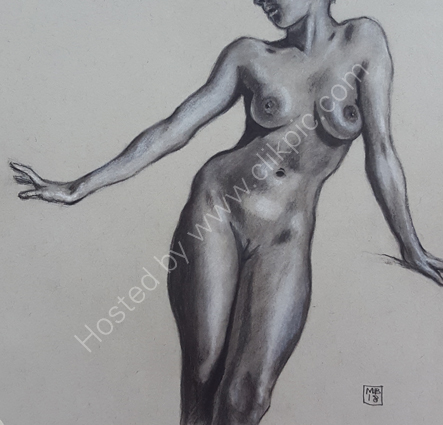 Charcoal and chalk 4