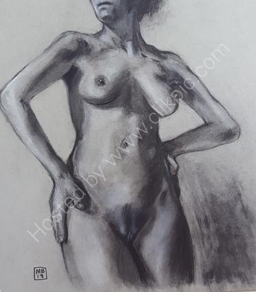 Female nude study 5