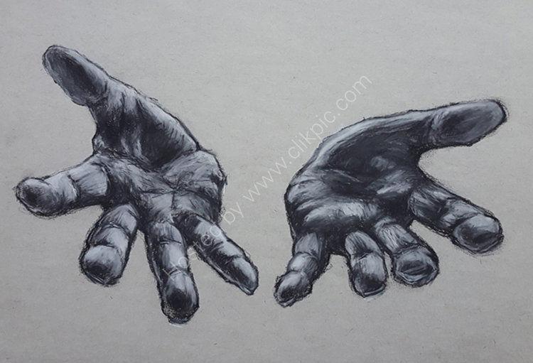 Hand study no 7