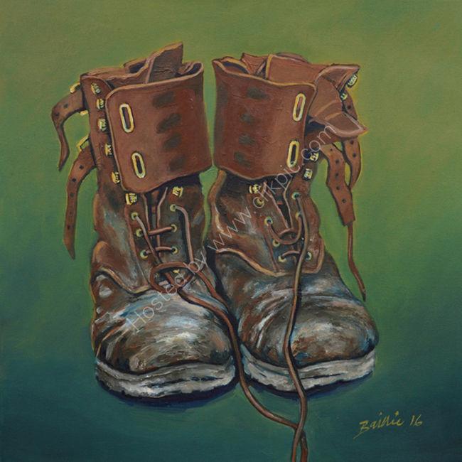 Monty Don's gardening boots