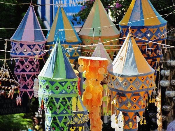 Lanterns in Kalkan, Turkey