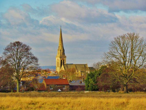 St. Matthias, view from Richmond Park