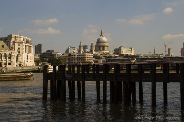 St. Paul's and Dock