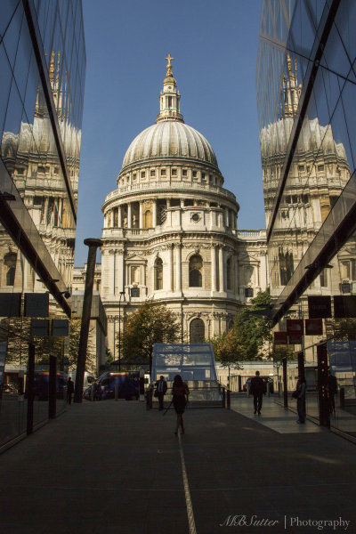 St. Paul's and One New Cross