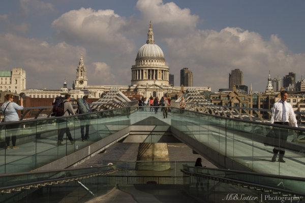 St. Paul's and Millenium Bridge