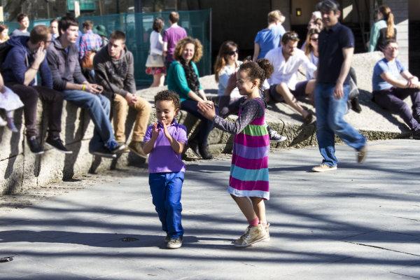 Dancing on Southbank