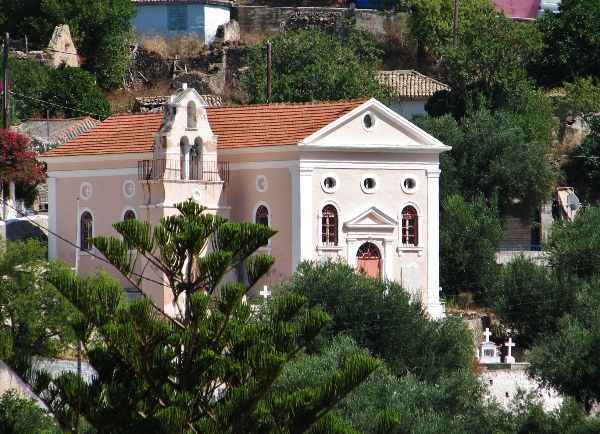Church in Asos village