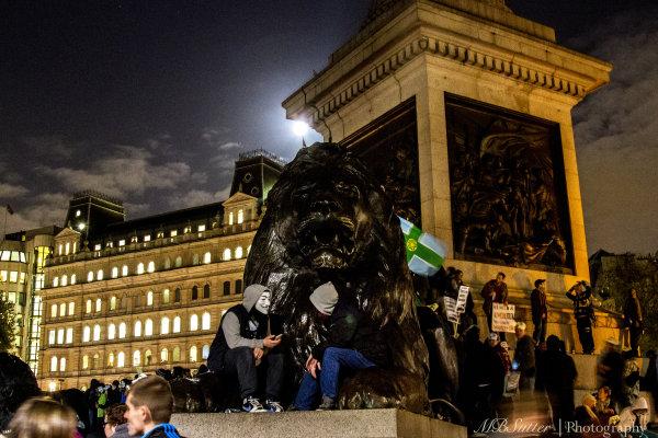 Million Masks Trafalgar Lion