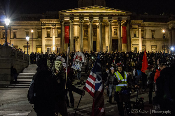 Million Masks and the National Gallery