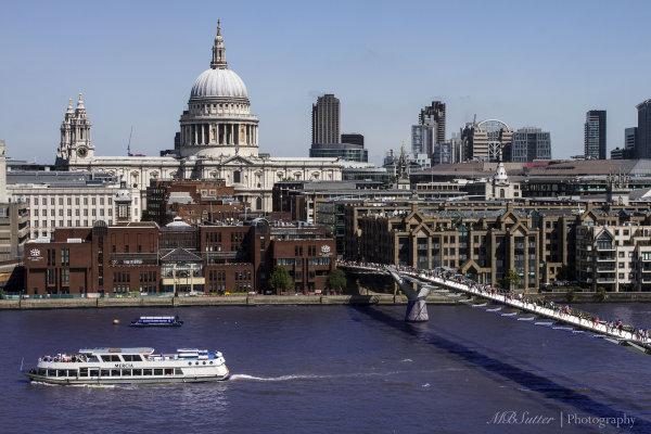 St Paul's and the Millenium Bridge