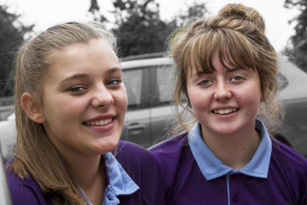 Twickenham Academy Two Girls