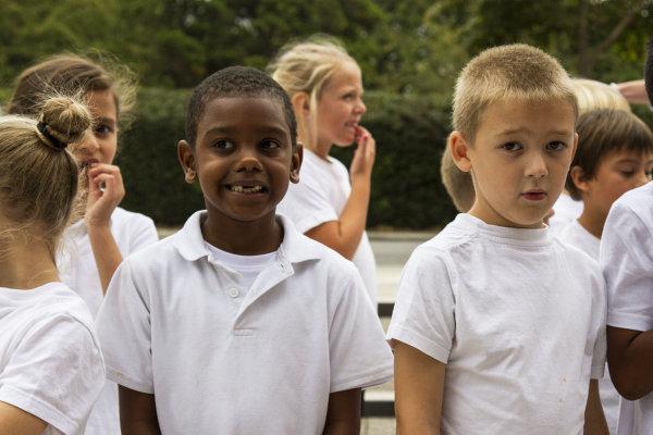 Twickenham Academy Boys in White
